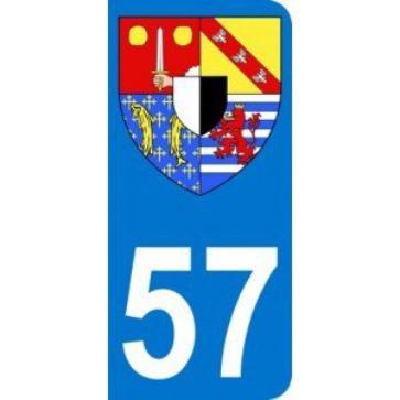 ECUSSONS ET INSIGNES DEPARTEMENT MOSELLE 57
