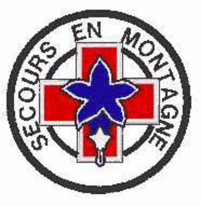 ECUSSONS ET INSIGNES SECOURS EN MONTAGNE