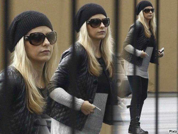 Sarah aperçut à Los Angeles Mardi !