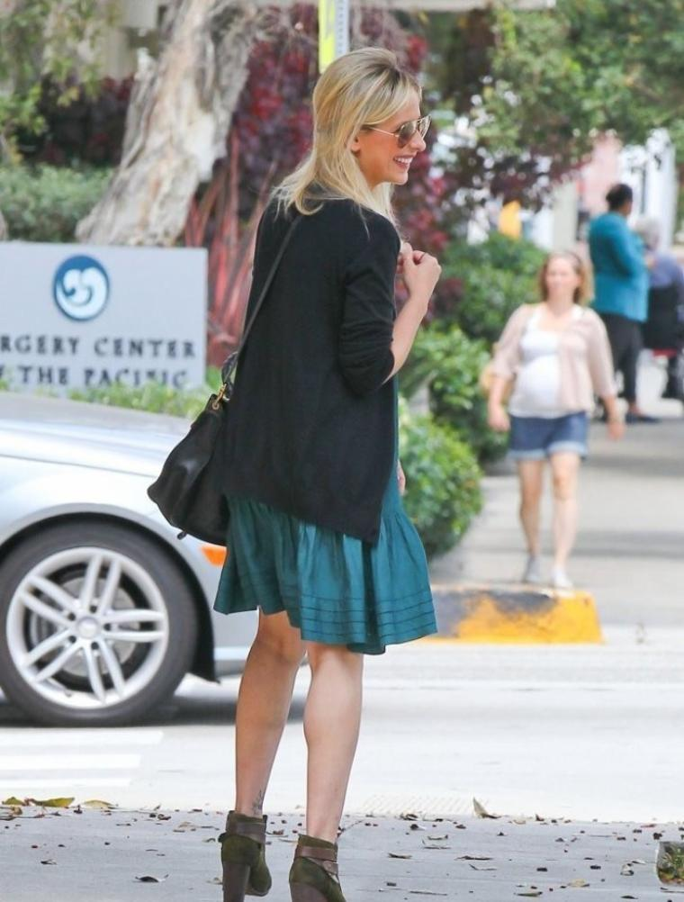 Sarah à  Santa Monica mercredi !