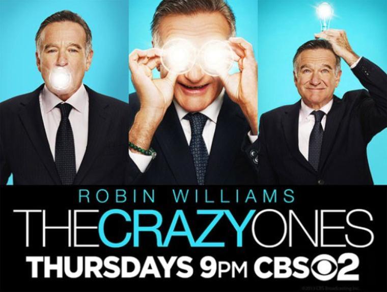 Premier poster officiel de The Crazy Ones !