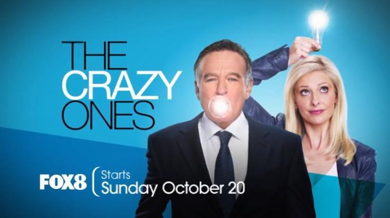 The Crazy Ones  vidéo promotionnel pour  FOX8 !