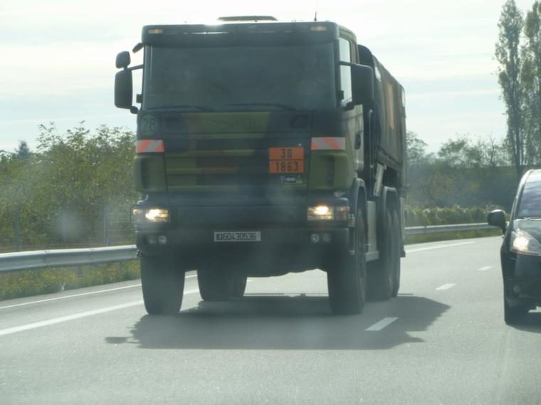 Scania militaire