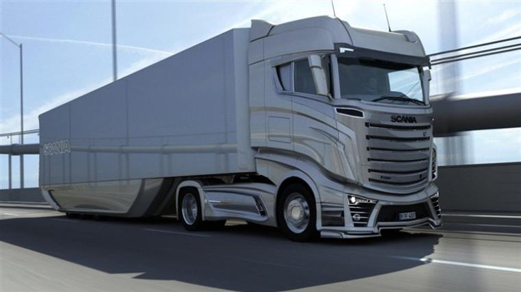 Prototype Scania r1000
