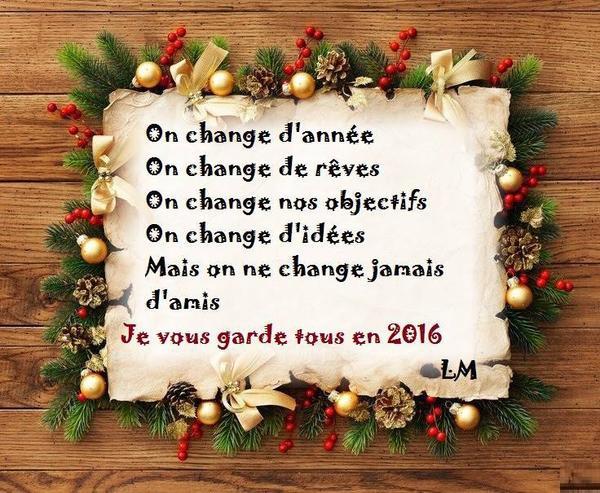 Ma décision pour 2016 !!!