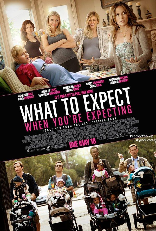"DÉCOUVREZ Les posters et la bande annonce du film "" What To Expect When You're Expecting """