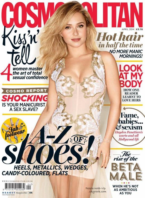 """Hayden Panettiere En couverture du magazine """" Cosmopolitan UK """" Qu'en pensez vous ?"""
