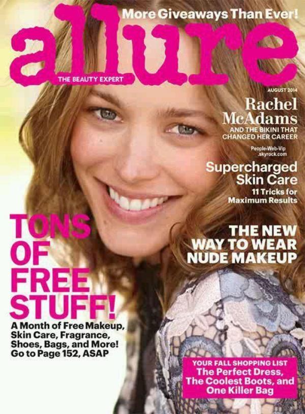 """Rachel McAdams en couverture du magazine """" Allure """"  Qu'en pensez vous ?"""