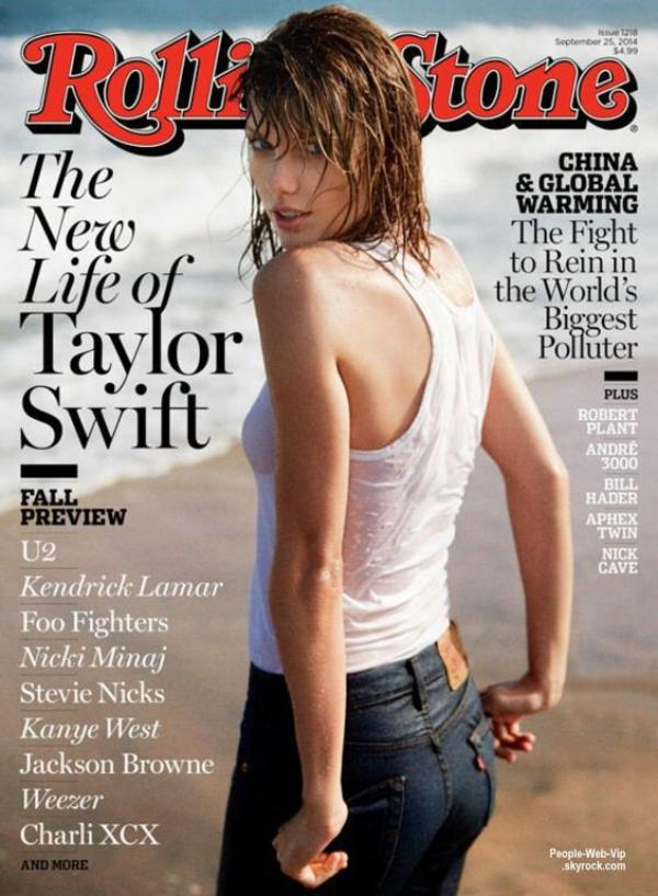 """Taylor Swift est en couverture du magazine """" Rolling Stone"""" Qu'en pensez vous?"""