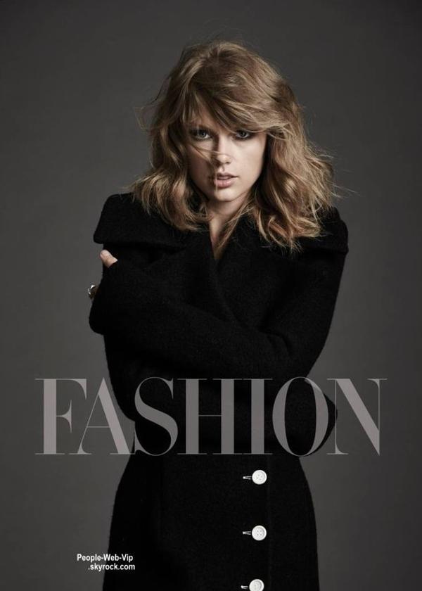 """Taylor Swift est en couverture du magazine """" Fashion """" Qu'en pensez vous?"""