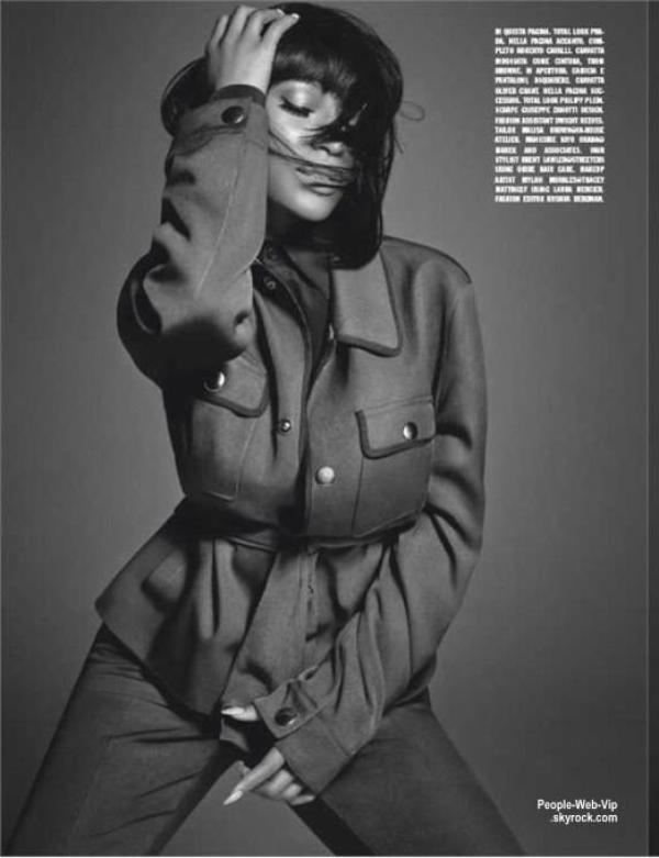 """Nicki Minaj est en couverture de """"Music"""" issu du magazine """"L'Uomo Vogue. """" Qu'en pensez vous ?"""