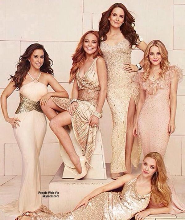 Tina Fey, Rachel McAdams, Lindsay Lohan, Lacey Chabert et Amanda Seyfried se sont réunies!