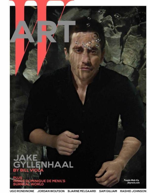 """Jake Gyllenhaal pose dans les eaux profonde pour le magazine """"W"""" Qu'en pensez vous?"""