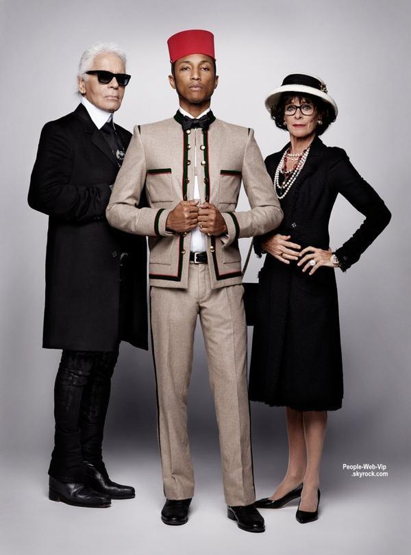 Cara Delevingne et Pharrell Williams pour la nouvelle campagne de Chanel ! Chanel vient de dévoiler le teaser de la prochaine campagne de la Maison intitulée Reincarnation. Imaginé et réalisé par Karl Lagerfeld, Chanel s'offre la top Cara Delevingne et la superstar Pharrell Williams.