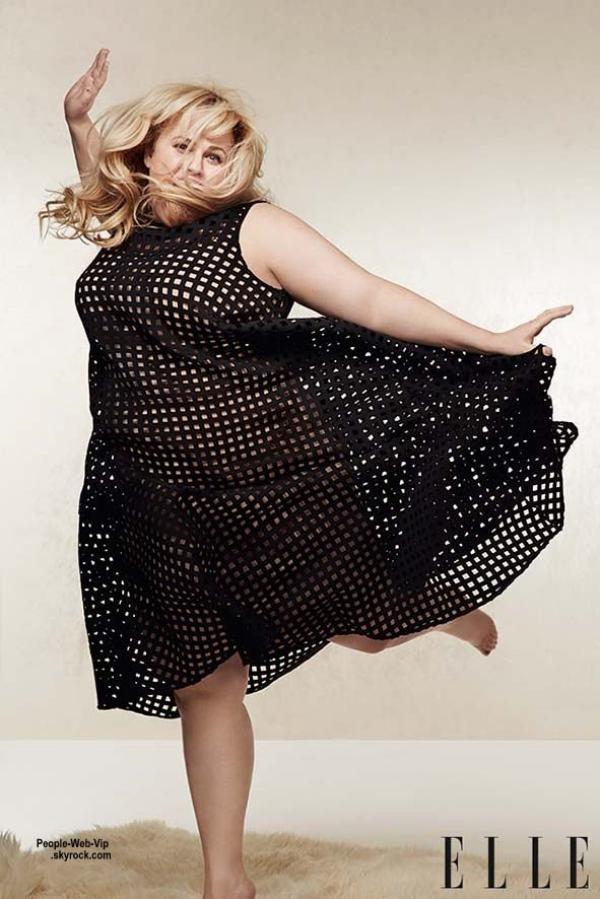 Rebel Wilson prend la pose sur la couverture de mai du magazine Elle UK . Qu'en pensez vous?