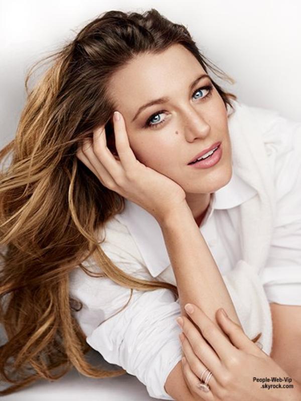 """La sublime Blake Lively pose pour la couverture du magazine """" Allure""""  Qu'en pensez vous?"""
