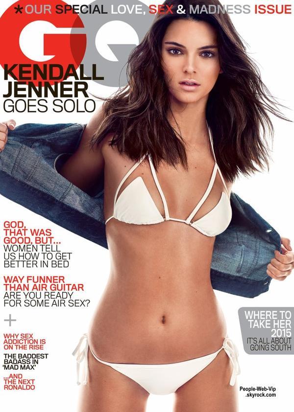 Kendall Jenner a l'honneur de faire la couverture du GQ du mois de mai en topless ! Qu'en pensez vous?