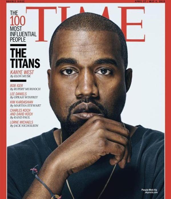 Kanye West et Bradley Cooper :  Ils prennent la pose pour la couverture des 100 personnes les plus influentes pour le magazine Time  Qu'en pensez vous?