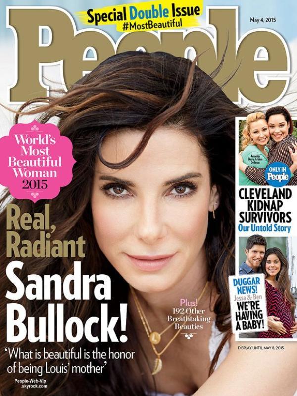 """Sandra Bullock est la plus belle femme au monde selon le magazine """"People """""""