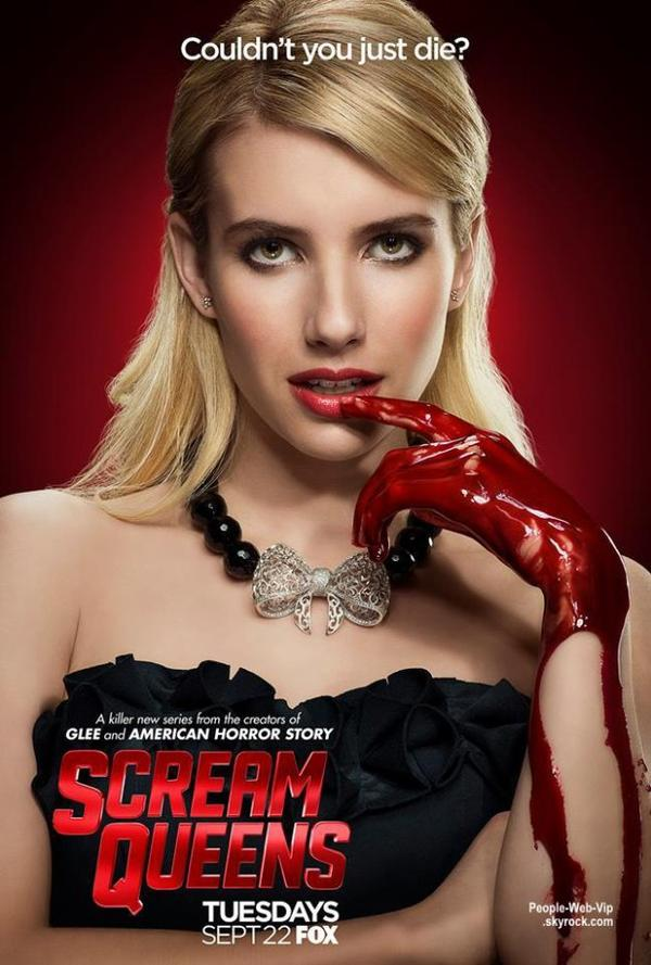 Scream Queens Nouvelle série TV prévue le mardi 22 septembre sur FOX !