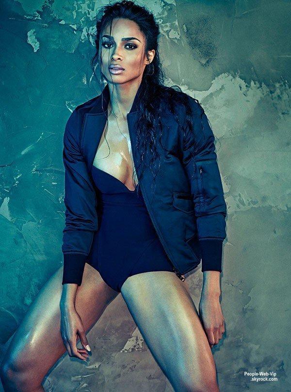 """Ciara pose pour le magazine """" Shape """" a paraître en septembre. Qu'en pensez vous?"""