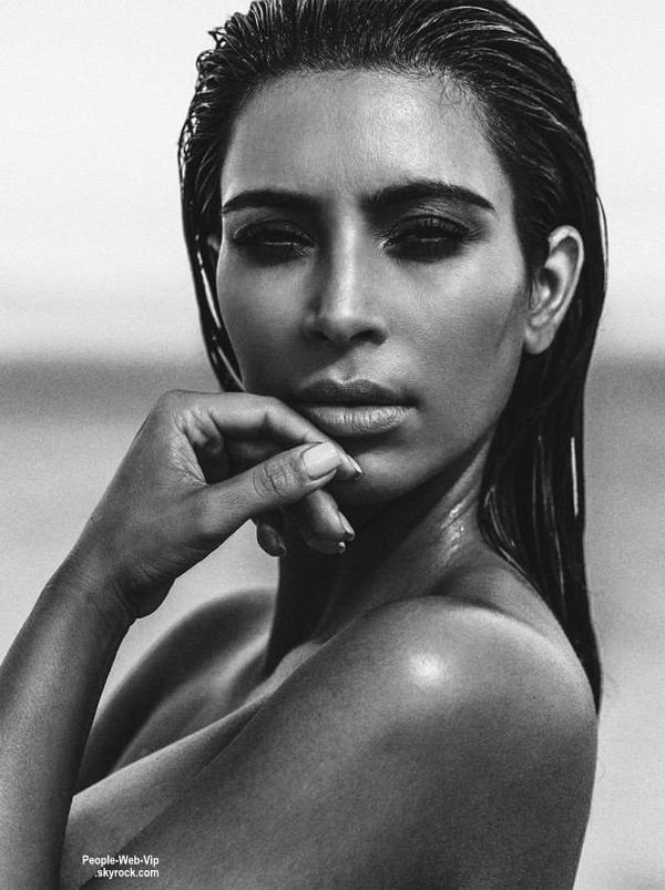 "Kim Kardashian pose pour le magazine "" C ""  Qu'en pensez vous?"