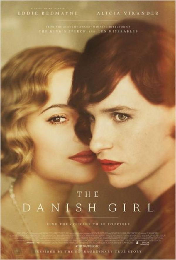 """ The Danish Girl ""  Date de sortie 20 janvier 2016 (2h0min)  // Réalisé par Tom Hooper //  Avec Eddie Redmayne, Alicia Vikander, Amber Heard"