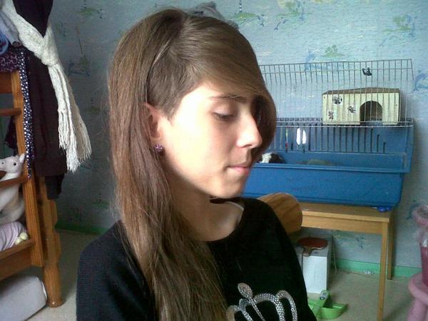Mes cheveux :P