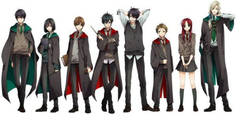 personnages ancien HP :)