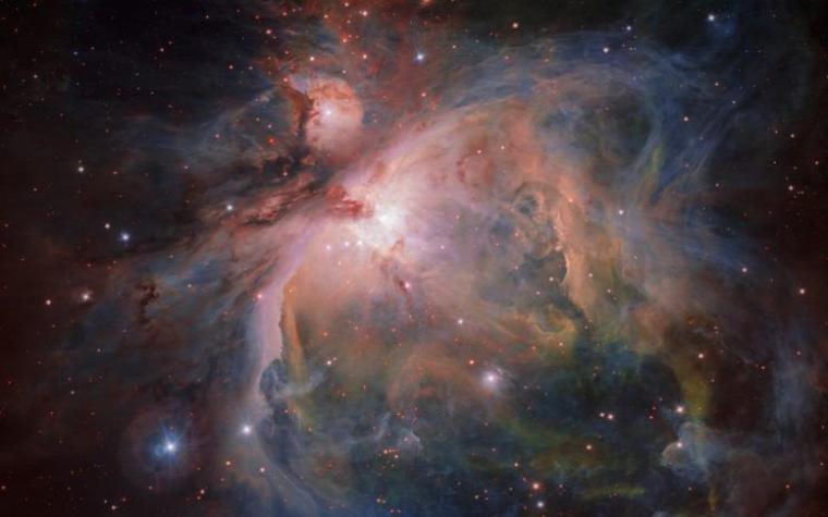 """Astronomie : l'image spectaculaire de la grande nébuleuse d'Orion et de ses """"bébés étoiles"""""""