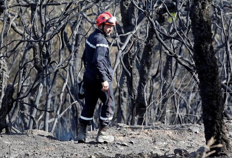 Les pompiers sont en colères contre les responsables d'incendies