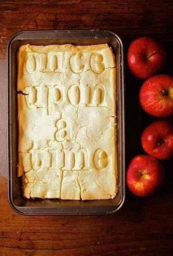 "Gateau au pomme "" Once Upon A Time """