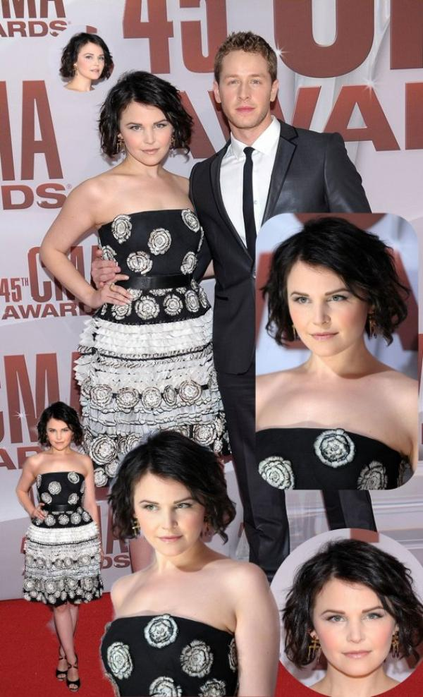 Ginnifer Goodwin : le 9 novembre 2011 au CMA Awards