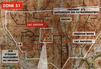 Zone 51, la zone qui a les réponses...
