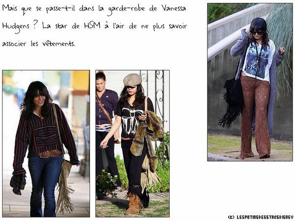 """Les """"fashion faux pas"""" de Vanessa Hudgens"""
