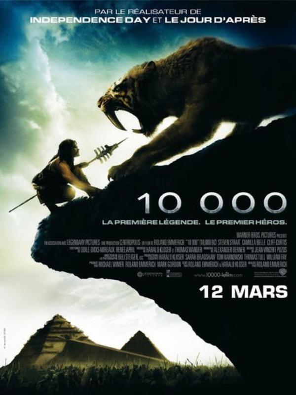 Films : 10.000 .