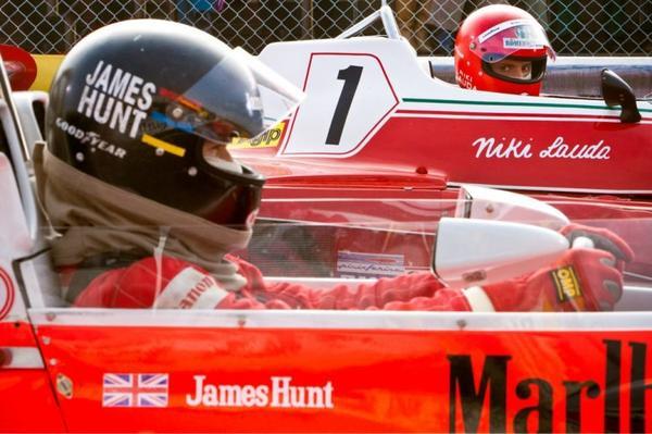 Daniel et Niki Lauda