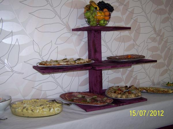 Le buffet froid...