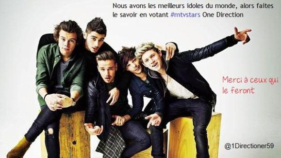 #mtvstars One Direction ♥