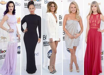 Billboard Awards 2012 : Les plus belles robes sur le tapis rouge