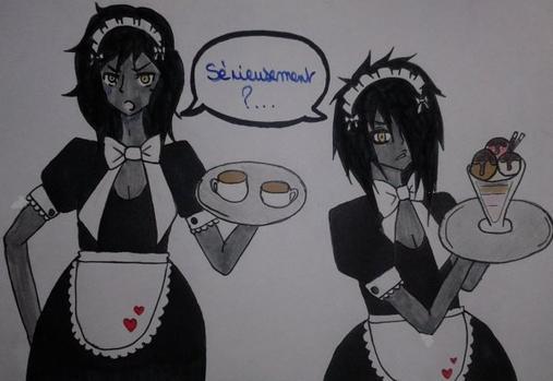 ♥ Furie du vendredi soir N°3 au maid café où travaille Ookami! ♥