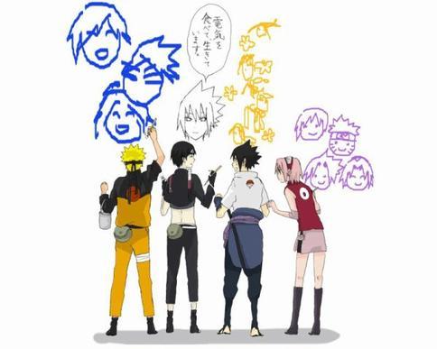 Page 2 : Equipe ( Naru+Saï+Sasu+Saku )