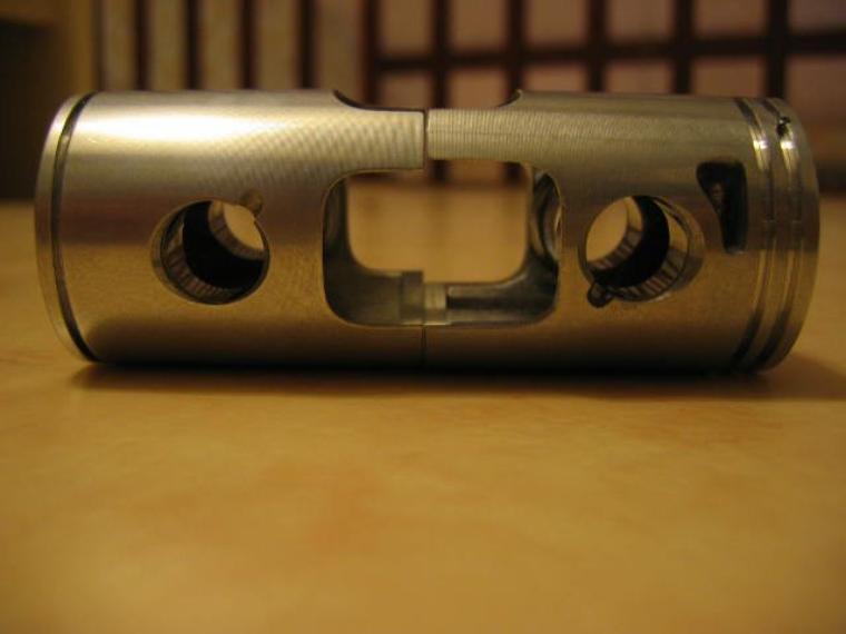 Comparaison piston Malossi G2 et G2r
