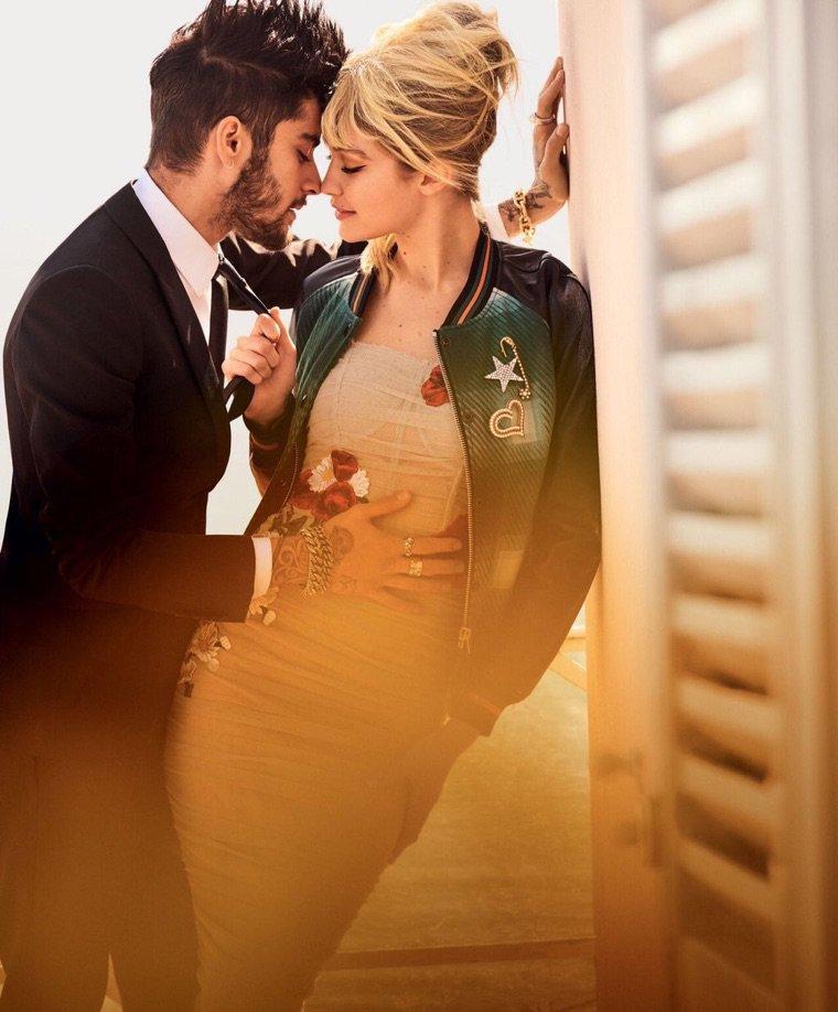 Zayn Malik & Gigi Hadid ❤️