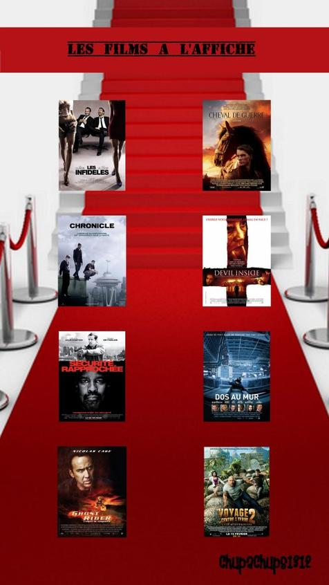 Les Films à l'affiche !