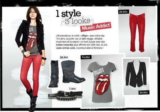 1 Style : 3 Looks (Chez Pimkie)