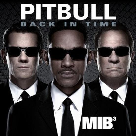 "Pitbull - Back In Time (featured in ""Men In Black III"")"