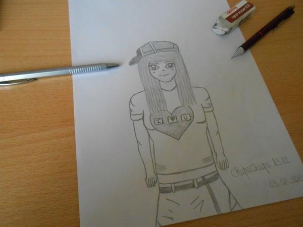 Nouveau dessin :) # Alexia