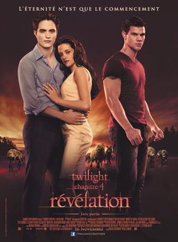 TWILIGHT CHAP.4: REVELATION AU CINEMA *****
