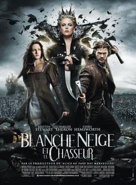 BLANCHE NEIGE ET LE CHASSEUR DE RUPERT SANDERS ****
